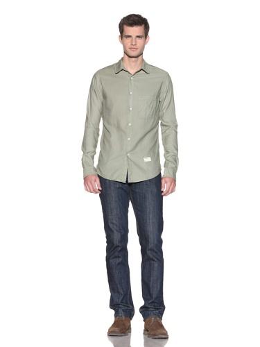 Aviator Men's The James Woven Shirt (Olive)