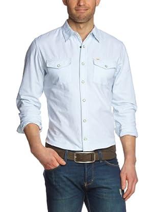 Lee Camisa Baldwin (Azul claro)