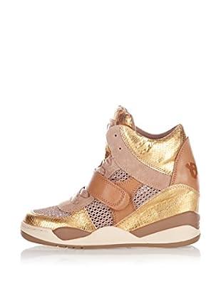 Ash Zapatillas de Cuña Funky Ter (Oro)