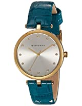 Giordano Analog Silver Dial Women's Watch - A2038-04