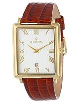 Le Chateau Men's 2200m_wht Classica Romano Collection Watch