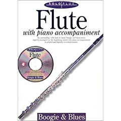 Solo Plus: Boogie & Blues: Flute with CD (Audio)