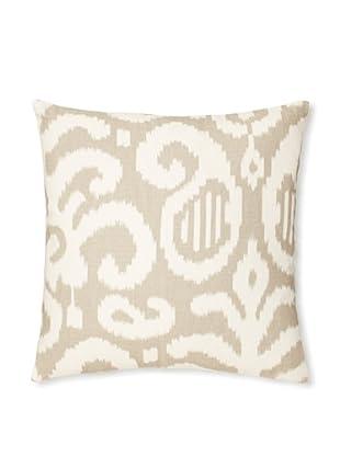 The Pillow Collection Teorra Ikat Decorative Pillow (Fog)
