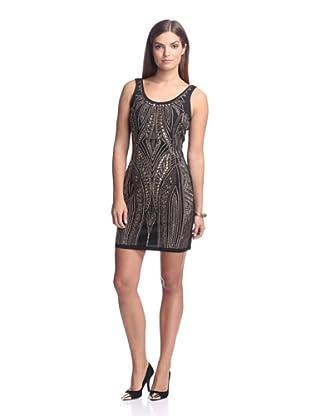 Alexia Admor Women's Studded Dress (Black/Gold)