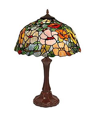 Arte dal Mondo Tischlampe Floreale