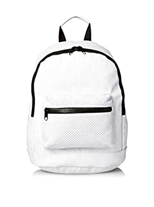 Nila Anthony Women's Star Perforated Backpack, White