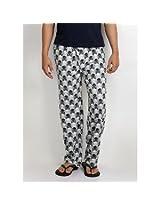 Nuteez Men's Pyjamas - Black, Grey & White
