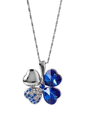 MUSAVENTURA Collar  Clover Azul Azul
