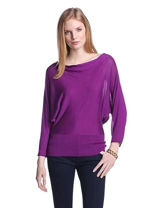Josie Natori Women's Dolman Sweater (Amethyst)