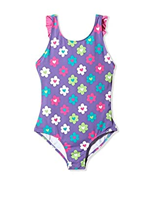 Hatley Badeanzug Girls Ruffle One Piece Swim Suit-flower Garden