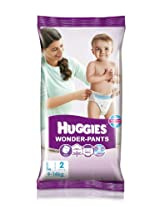 Huggies Wonder Pants Large Size Diapers (2 Count)