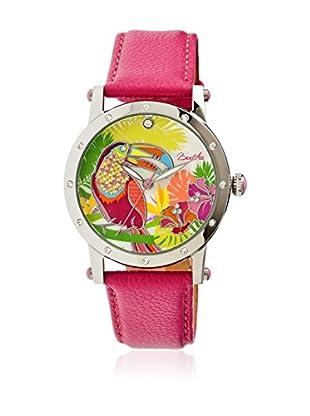 Bertha Uhr mit Japanischem Quarzuhrwerk Gisele pink 41 mm