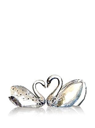 Swarovski Pair of Love Swans Figurines