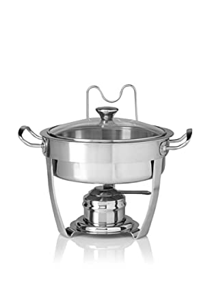 MIU France Stainless Steel Chafing Dish, Silver, 3-Qt.