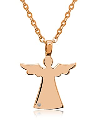 Divas Diamond Collar Diamante Angel Oro Amarillo