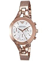 Emporio Armani Analog Mother of Pearl Dial Women's Watch - AR7391