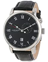 Akribos XXIV Men's AK595SS Swiss Leather Strap Date Watch