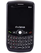 RIVIERA r14 Dual Sim Mobile Phone with 0.3 MP Camera and 2 Inch Display (Black)