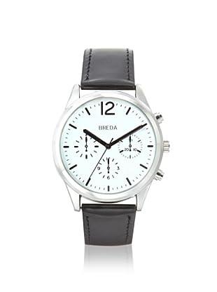 Breda Men's 2369 James Pilot Black/White Alloy Watch