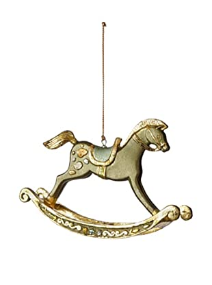 Rockinghorse Ornament, Olive
