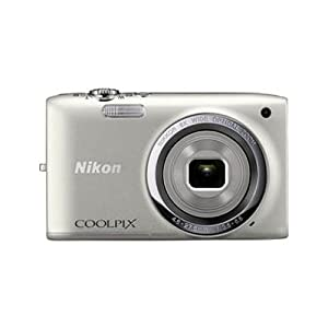 Nikon Coolpix S2700 16MP Point-and-Shoot Digital Camera (Silver) with 4GB Card, Camera pouch