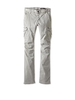Rockstar Denim Men's Slim Fit Cargo Twill Pants (Shark Skin)