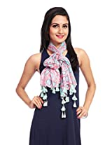 Red Riding Women's Scarf (STOVISS15004_Multi-Coloured_Free Size)
