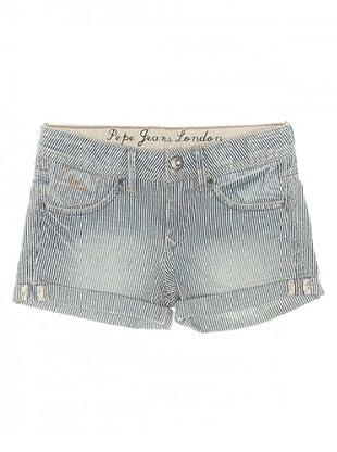 Pepe Jeans Kids Shorts Pintail (Weiß/Blau)