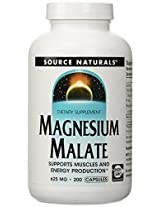 Source Naturals Magnesium Malate - 200 caps - 625 mg