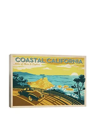 ASA-Coastal California Horiz Gallery Wrapped Canvas Print