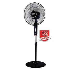 Morphy Richards Pedestal Fan - Vento - Black