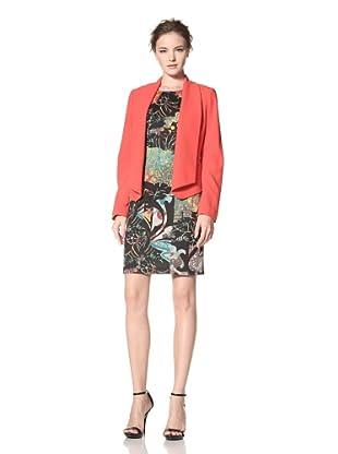 Calvin Klein Women's Flyaway Jacket (Ember)