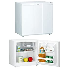 【クリックで詳細表示】Haier +40- 1ドア直冷式冷蔵庫+ホワイト JR-N40C(W)