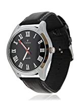 Calvino Men's Black Dial Watch CLAS-151439_Blk blk RMN