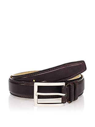 Joseph Abboud Men's Burnished Belt (Brown)
