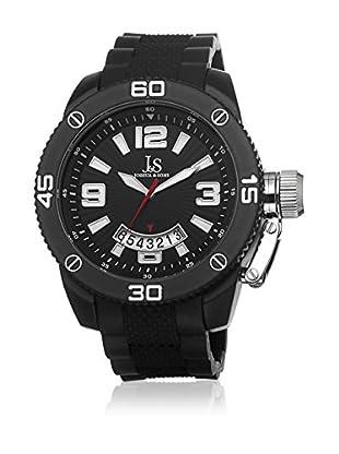 Joshua & Sons Reloj con movimiento cuarzo japonés Man JS54BK 52 mm