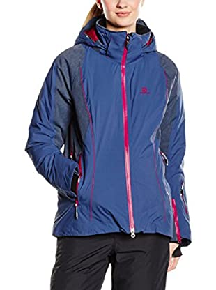 Salomon Giacca Whitemount Mix Gtx Mf Jacket W Abyss