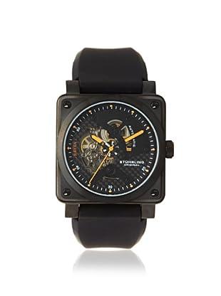 Stuhrling Men's 179A.335612 Raven Black/Black Watch