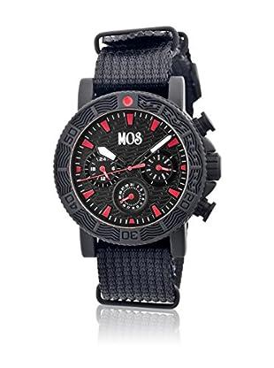 Mos Reloj con movimiento cuarzo japonés Mossp101 Negro 45  mm