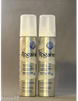(2) ROGAINE 5% Minoxidil Topical Foam Sealed MENS 2 Month Supply 2-2.11 oz Can