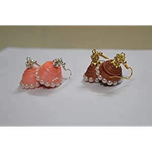 Quillings by SSE - Combo Of 2 Jumkas Earring