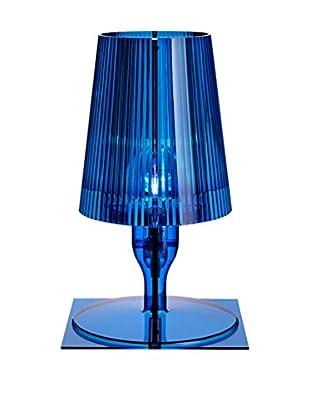 Kartell Tischlampe Take blau