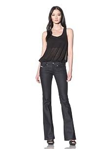 Diesel Women's Louvely Flare Jean (Indigo)