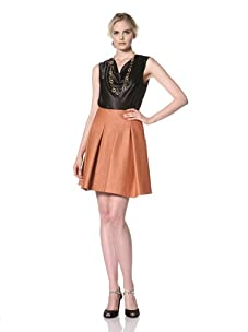 Natori Women's Lined Skirt (Burnt orange)