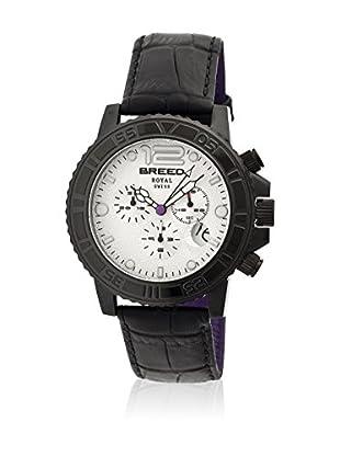 Breed Reloj con movimiento cuarzo suizo Brd6703 Negro 44  mm
