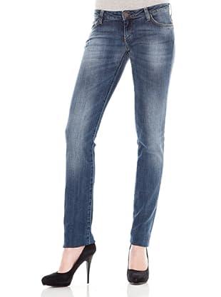 Calvin Klein Jeans Vaquero 5 Bolsillos (Azul Medio)