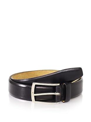 Joseph Abboud Men's Shiny Belt (Black)