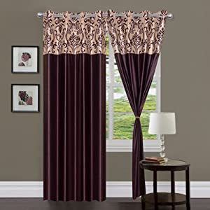 Handloom Hub Printed Eyelet Door Curtain