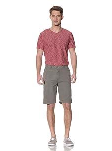 Nüco Men's Seersucker Shorts (Olive)