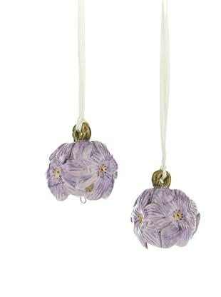 Villeroy & Boch Mini Flower Bells: 2 tlg. Set Hyazinthe violett